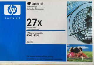 HP 27X - Tóner para impresoras láser