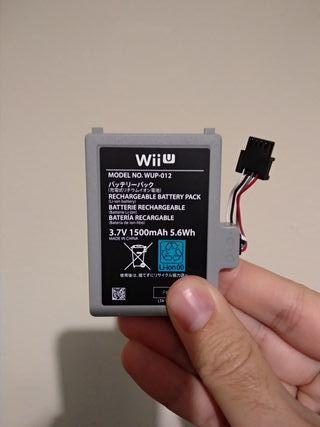 Batería Original Gamepad Nintendo WiiU. Wii u.