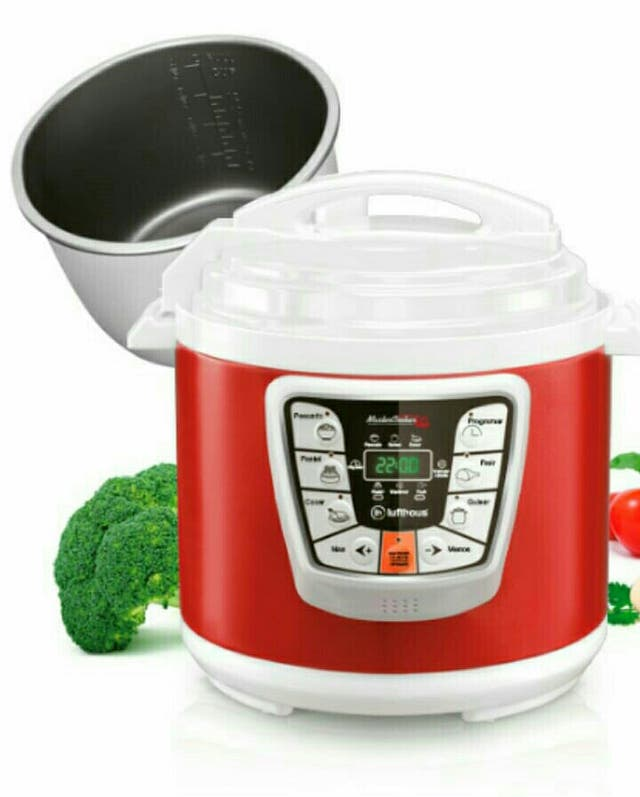 OLLA PROGRAMABLE MASTER COOKER RED 10 LITROS