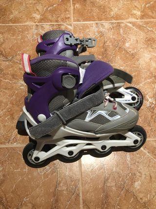 Venta de patines niño y protecciones
