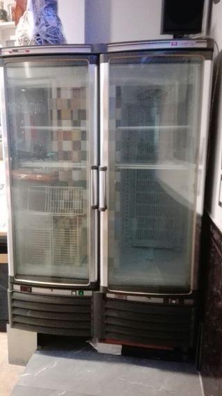 Cámara frigorífica expositor