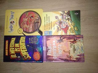 lote 4 libros juveniles