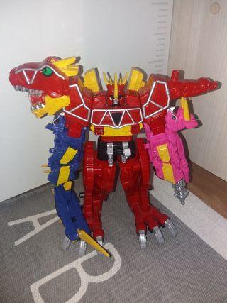 juguete dino power rangers