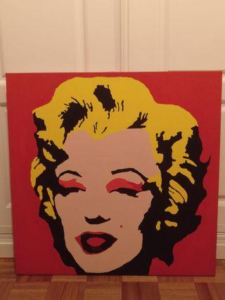 Cuadro Marilyn Monroe estilo Andy Warhol