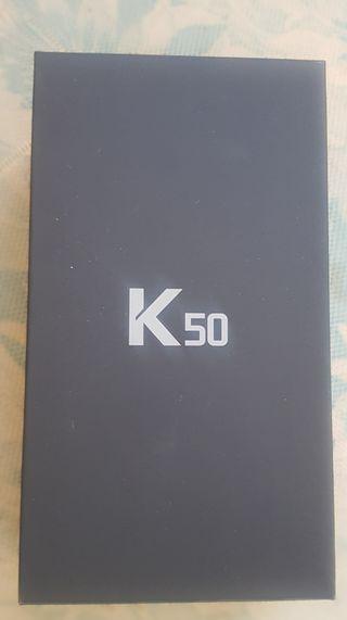 LG K50 AZUL NUEVO DUOS TARJETA