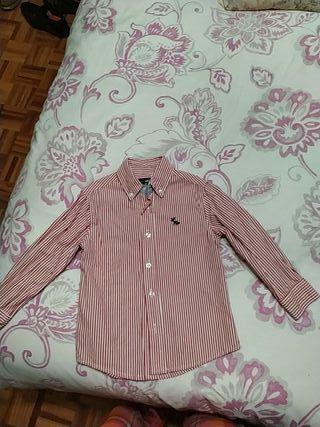 camisa niño 3/4 años hasta 104cm