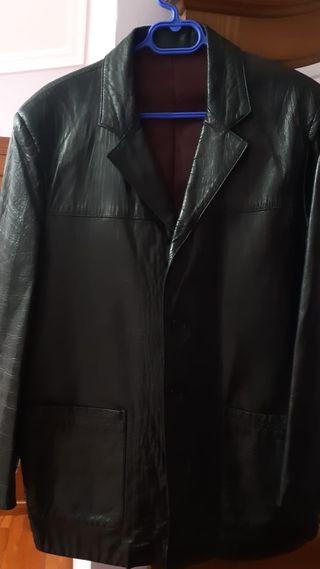 chaqueta piel hombre m vigo