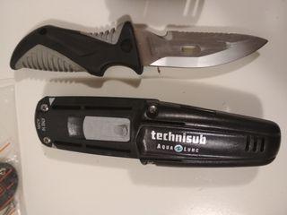 Cuchillo buceo