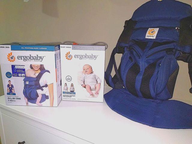 ErgoBaby Omni 360 - mochila portabebes