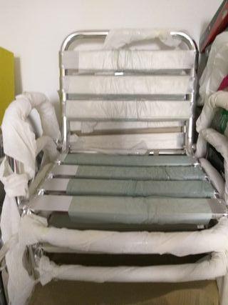 sillas de aluminio para terraza