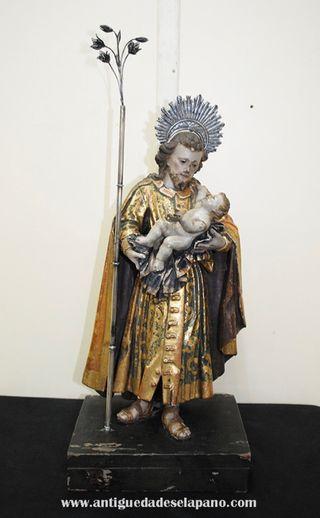Antigua talla de San José, S.XIX