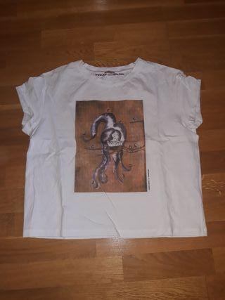 camiseta Blanca Hoss Intropia