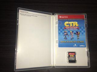 Nintendo Switch Crash bandicoot CTR team racing