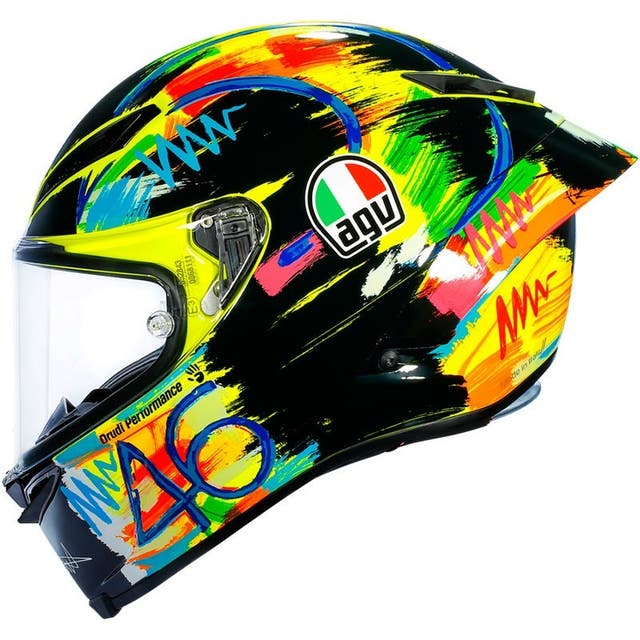 Casco AGV Pista GP R Rossi Winter Test 2019