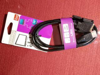 Cable DVI a HDMI