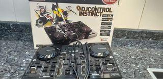 Mesa de mezclas Hercules DJ Control Instinc