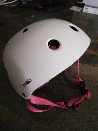 casco para bicicleta de niña