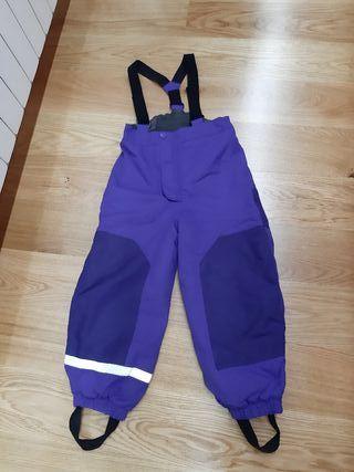 Pantalon de esquiar talla 5-6 años
