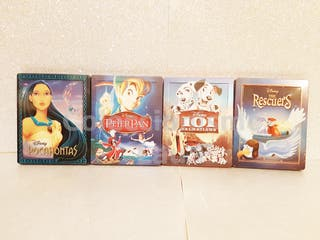 Bluray Steelbook Disney Coleccionista Limitada 2