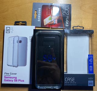 Pack Samsung Galaxy S8+ Artic Silver 64 GB