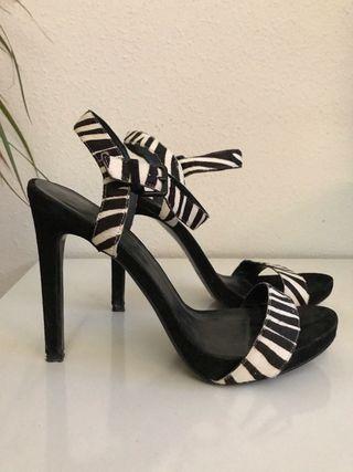 Zapatos sandalias tacon exclusivos