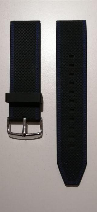 Correa reloj silicona 24 mm