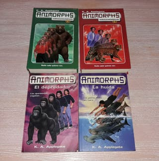 Libros Animorphs