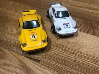 2 Porsche carrera rs Scalextric exin