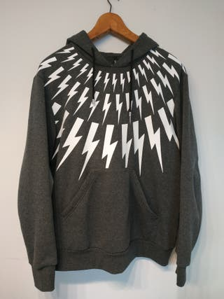 SUDADERA GRIS NEIL BARRET