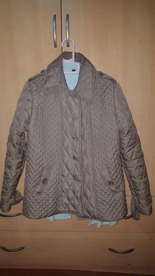 chaqueta marron 2 usos
