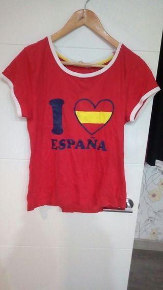 2x4 camiseta toro y corazón