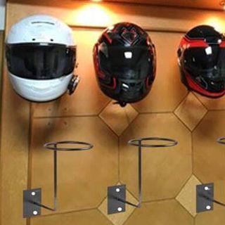 Soporte para casco de moto BLANCO