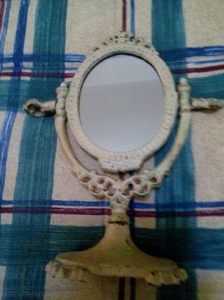 espejo forja hierro