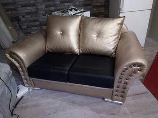 sofa de dos plazas vintage