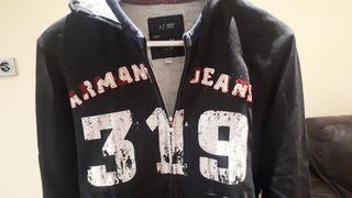 Sudadera con capulla Armani Jeans