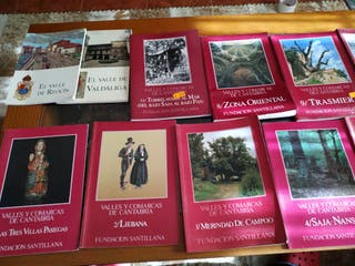 lote de libros de Cantabria