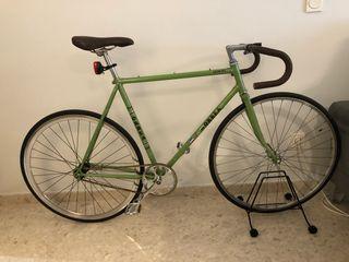 Bicicleta fixie Orbea restaurada