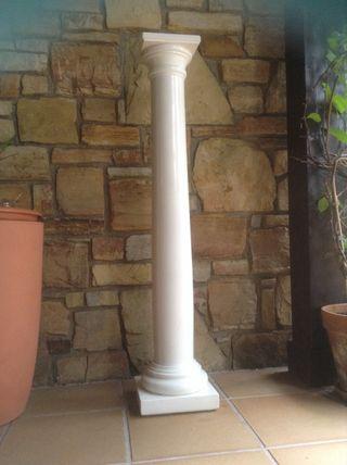 Columna pedestal