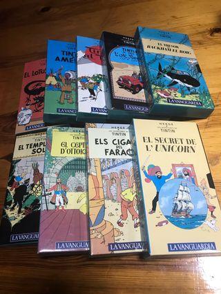 Peliculas Tintín VHS
