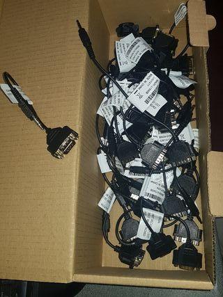 cable serie macho a mini jack 37 unidades