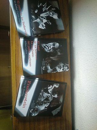 colección de novelas de Terror y suspense