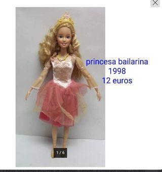 muñeca barbie princesa bailarina 2008