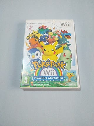 pokepark pikachu's adventure wii