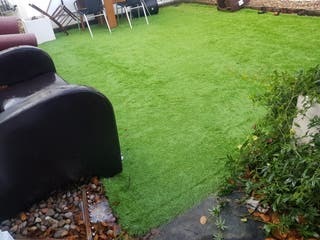 artificial grass is sold in perfect condition