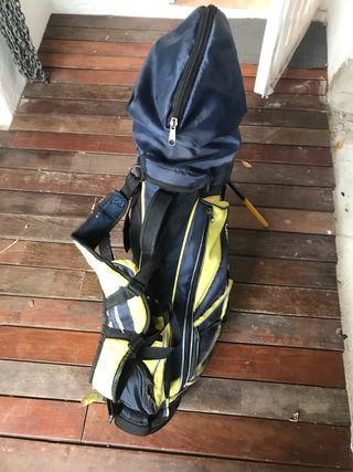 Equipo golf junior zurdo