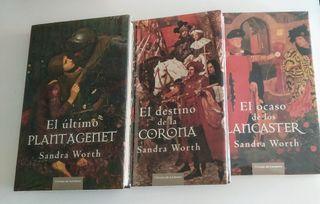 3 LIBROS NOVELA HISTÓRICA