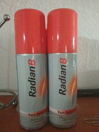 spray radian Gibraltar