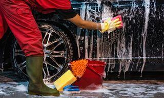 Limpieza de vehículos