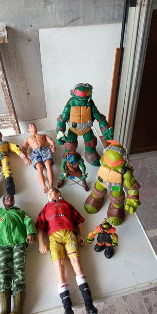 ACTION-MAN y tortugas ninja