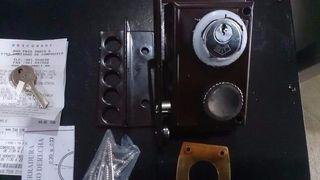 Cerradura de Alta seguridad 4 pestillos